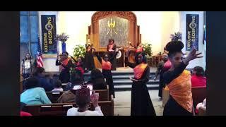 """Mt. Vernon's Angels of Praise - """"Strange Fruit"""" by Nina Simone DANCE"""