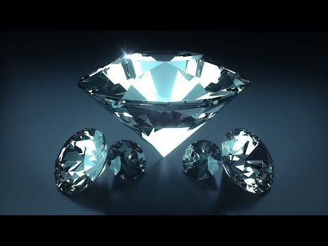 C4D Diamond [Fastest Way] - Cinema 4D Tutorial (Free Project)