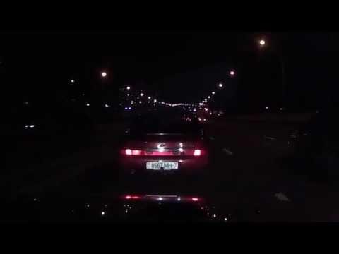 Таксист на Форд Скорпио создал аварийную ситуацию на ул. Тимирязева 1.09.16г.