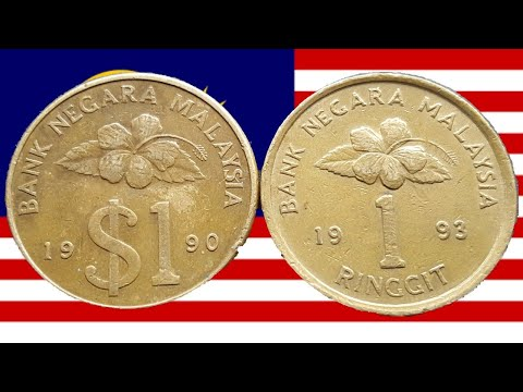 Why did Malaysia withdrawl the 1 Ringgit coin?
