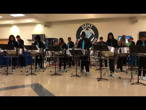 Dent Middle School Steel Pans 12/05/2017