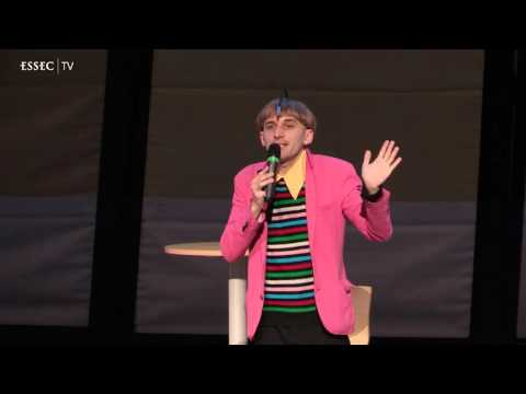 Hearing colors: my life experience as a cyborg, by Neil Harbisson, iMagination Week 2016