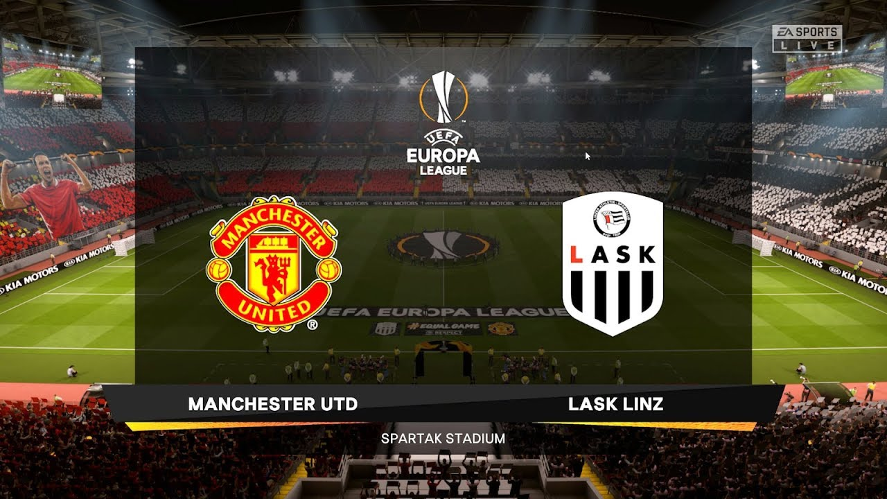 LASK vs Manchester United – Europa League 12 March 2020 Gameplay