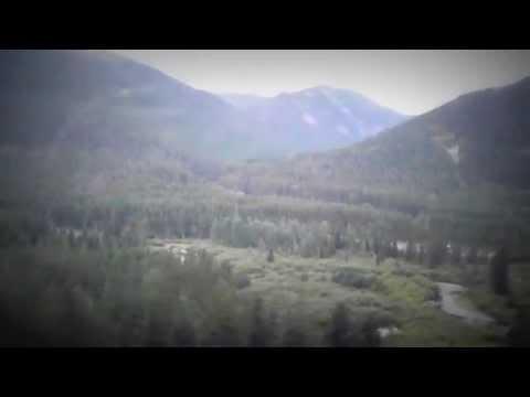 Amtrak Empire Builder -West through Glacier National Park