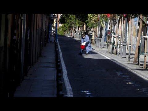 Espagne: 378 morts du coronavirus en 24h