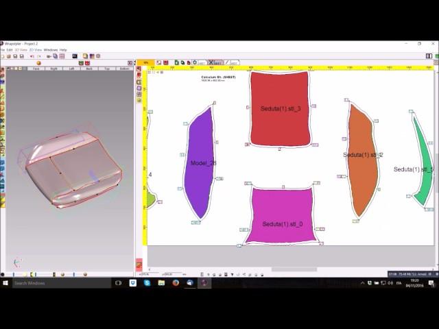 WrapStyler: Software per lo sviluppo di modelli 2D da dati di scansione 3D o CAD | V-GER