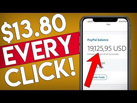 Get $13.80 PER Click For FREE - WORLDWIDE! (Passive Income)