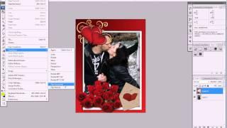 Bigbad.ru - как вставить фото в рамку в фотошопе