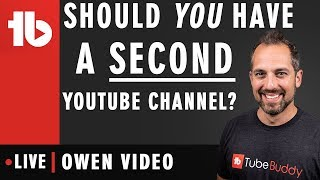 Should You create a Second Channel?  - Hosted by Owen Hemsath