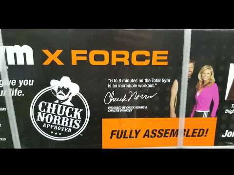 Costco! Total Gym X Force Home Gym! $289!!!