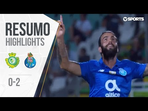 Highlights   Resumo: V. Setúbal 0-2 FC Porto (Liga 18/19 #5)