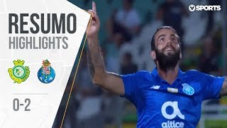 Highlights | Resumo: V. Setúbal 0-2 FC Porto (Liga 18/19 #5)