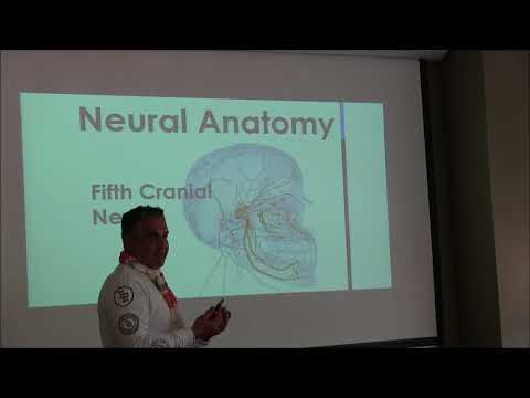 Dr. Panahpour, DDS teaching for Academy  of Neurobiology