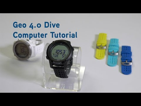 Geo 4.0 Dive Computer Tutorial with Bluetooth and DiverLog+ App
