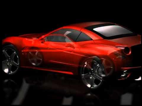 Ferrari California - Maya - CGI