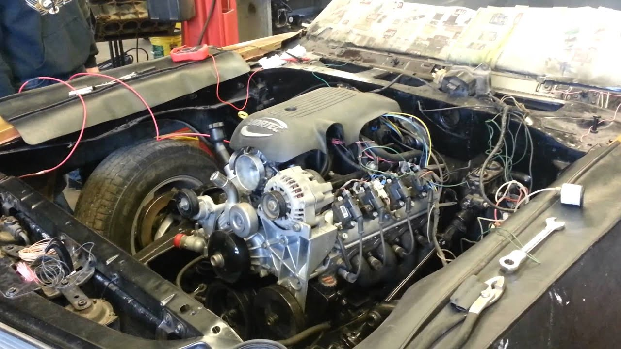 1970 Chevelle 4 8 Ls Swap With Ls6 Cam Youtube