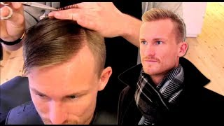 Kevin McKidd inspired hair style product By Vilain - fresh hair styling tutorial Slikhaar TV
