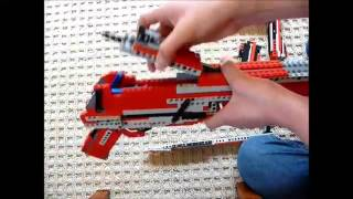 Lego Custom Sniper Rifle Instructions Part 2/2 (Working)