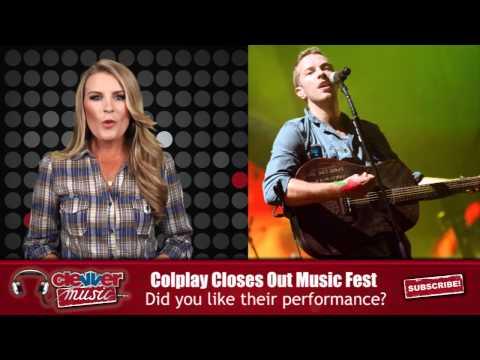 Coldplay Rocks Glastonbury Festival
