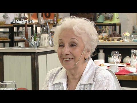 """Estela de Carlotto: """"Ahora está completa la familia"""" - Morfi"""