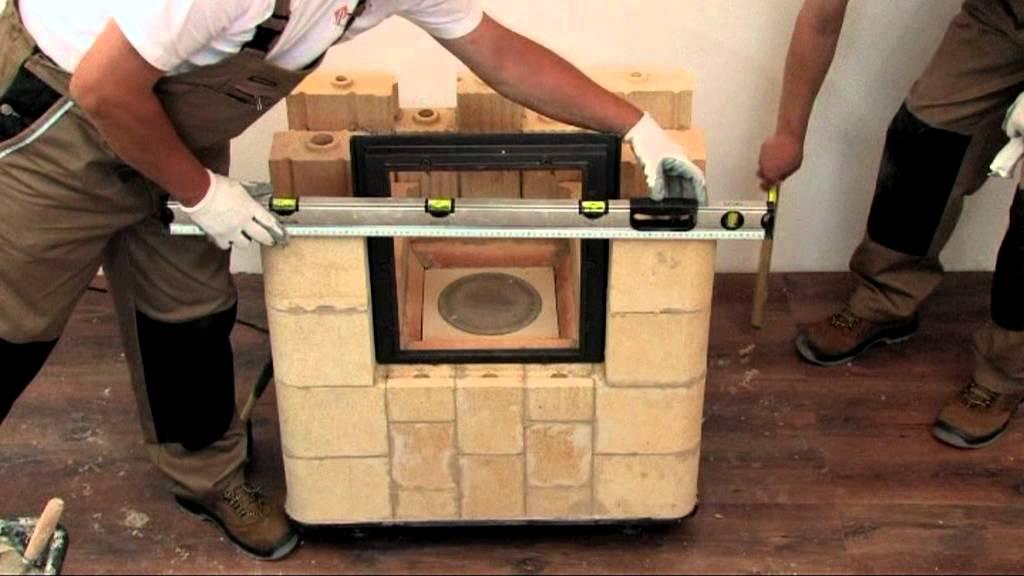 Kafel Kar  budowa pieca (film instruktażowy)  YouTube