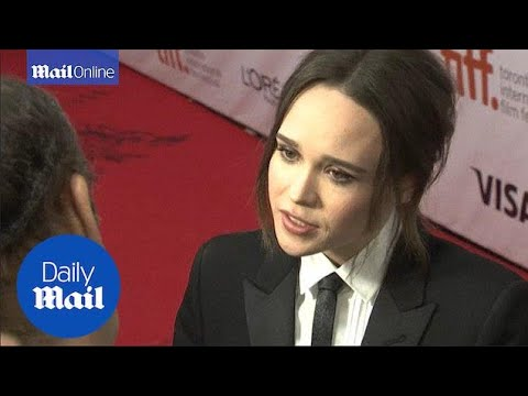 Ellen Page Opens Up About Being Gay At Toronto Film Festival - Daily Mail