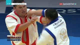 «Қазақстан барысы-2019» финал: Айбек Нұғымаров - Ерасыл Қажыбаев