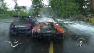 DRIVECLUB PS4 Pro Gameplay 1080p - Lamborghini MURCIÉLAGO along with Rain Physics