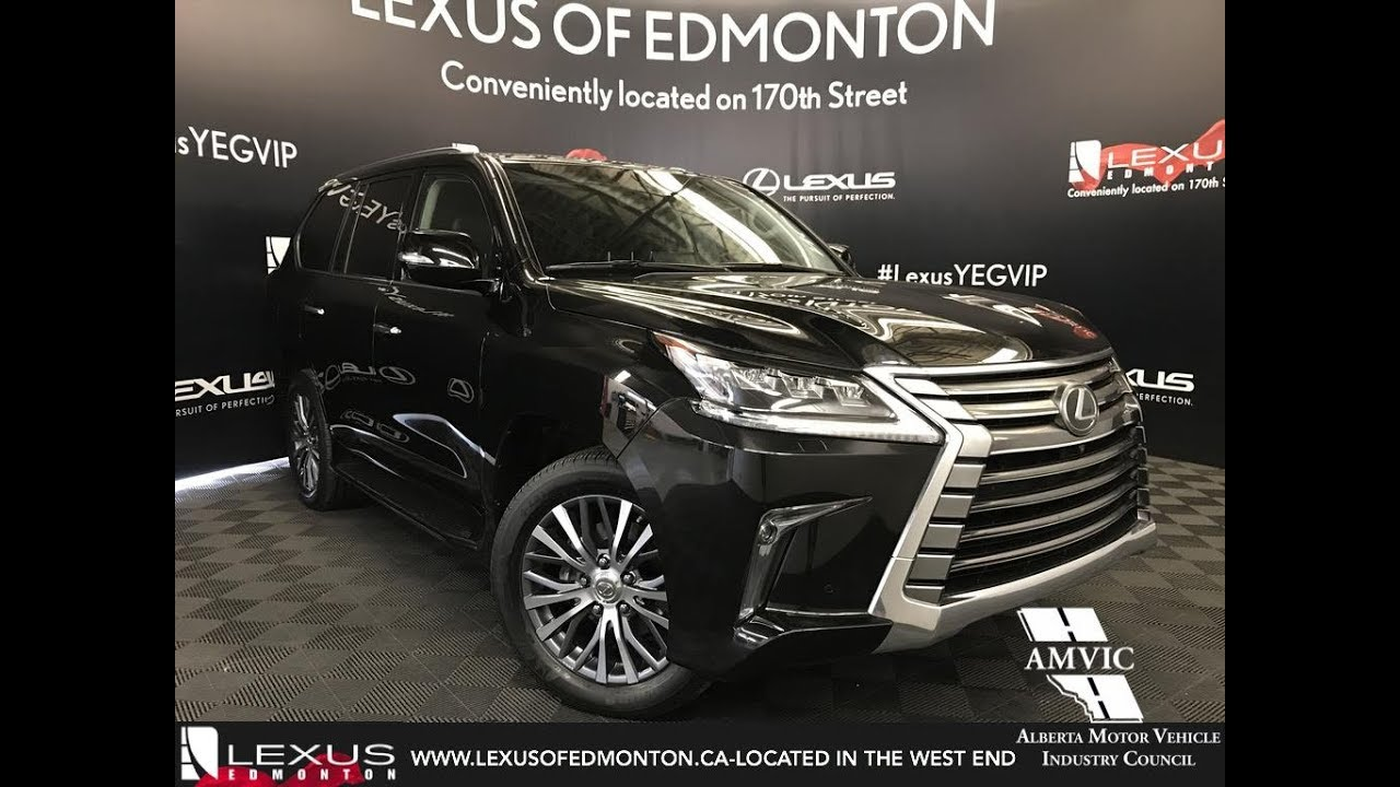 Lexus Certified Pre Owned Black 2016 Lx 570 Executive Package Review