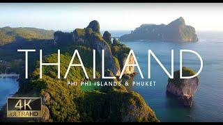 Thailand 4K Long Video of  Phi Phi Islands & Phuket