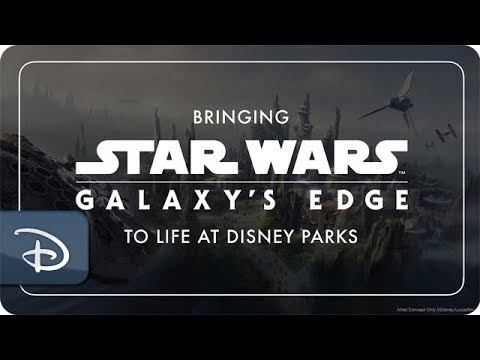 #disneyparkslive:-bringing-star-wars-galaxy's-edge-to-life-at-disney-parks