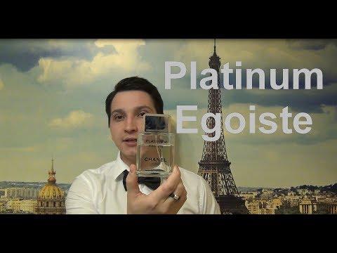 Platinum  Egoiste Chanel мои парфюмы