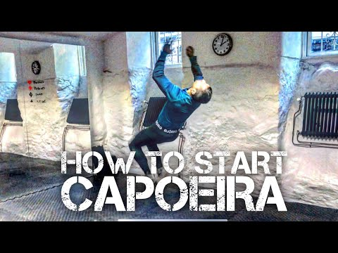 How to Start Capoeira 8 exercises