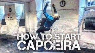 How to Start Capoeira 8 exercises