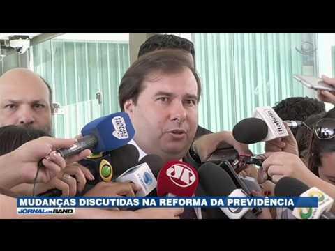 Governo discute mudanças na reforma da Previdência