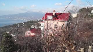 Видео Обзор участка в пос. Никита, г.Ялта.