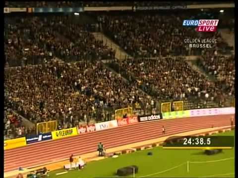World record  10000m  Kenenisa Bekele 26'17'53