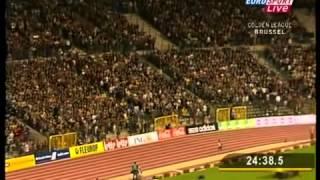 World record  10000m  Kenenisa Bekele 26'17'53