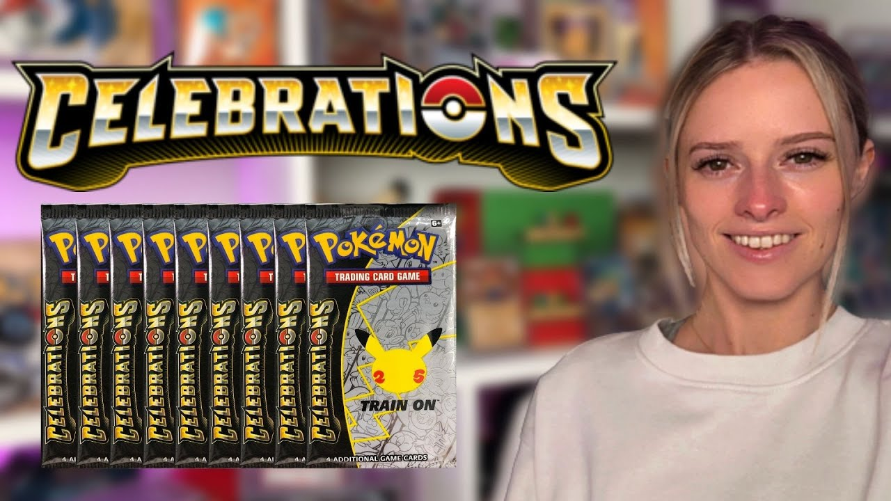Download Live Pokemon Celebrations Pack Opening! Plus Other Sets!
