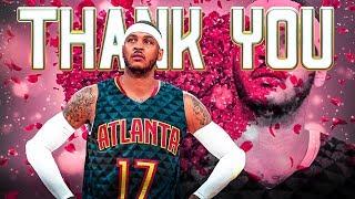 Carmelo Anthony - Atlanta Hawks Tribute *EMOTIONAL* - Part 1 of 2