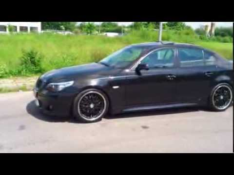 bmw e60 m paket 530i shadow line youtube. Black Bedroom Furniture Sets. Home Design Ideas
