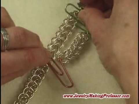 Chainmaille Jewelry Patterns Persian Choker Preview YouTube