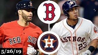 Boston Red Sox vs Houston Astros - Full Game Highlights | May 26, 2019 | 2019 MLB Season