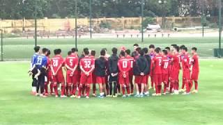 Buổi Tập  đầu tiên của ĐT U23 Việt Nam dưới thời HLV Park Hang seo