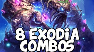 Exodia Infinite Damage Combos With 8 Different Classes [Hearthstone]