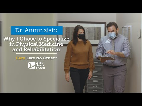 Why I Chose to Specialize in Physical Medicine and Rehabilitation
