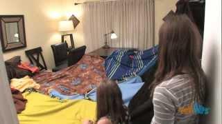 """girls Only"" Blanket Fort"