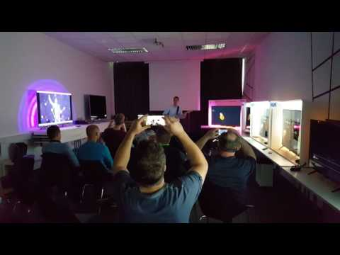 2016 Philips TV Technical training Slovenia, Ambilux   Ambisound demo on Guitar