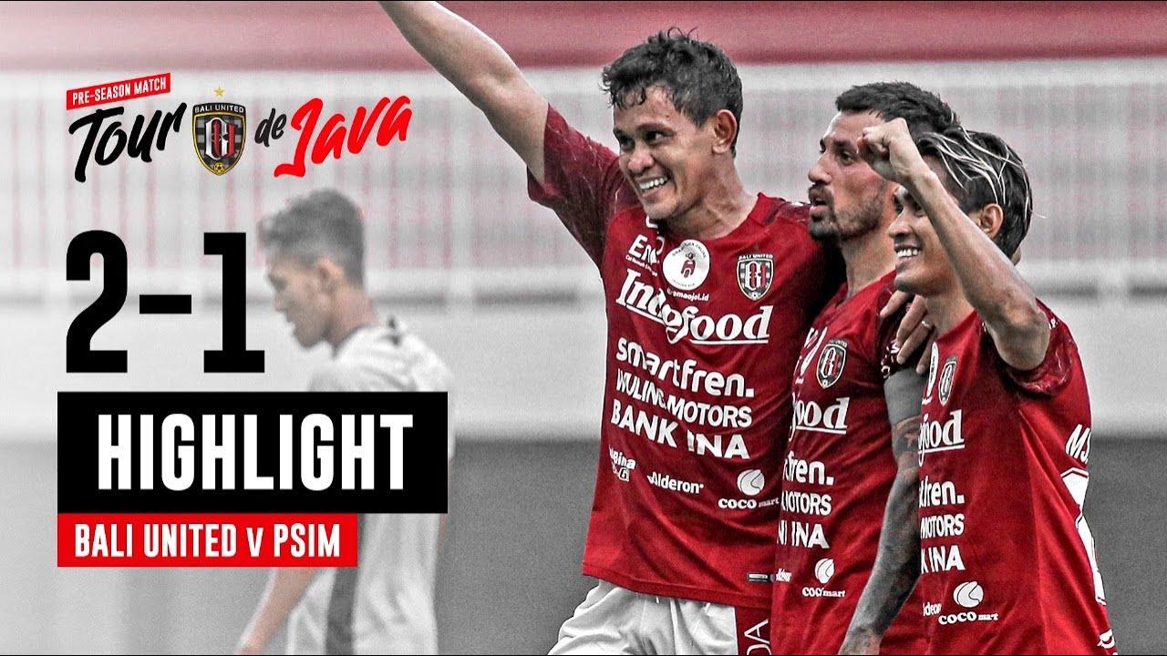 [HIGHLIGHT] Bali United vs PSIM Yogyakarta | Tour De Java | Goal Skill Save