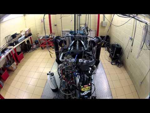 Fondmetal V10 F1 Engine Dyno Test